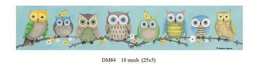 Debbie Mumm DM84 Owls