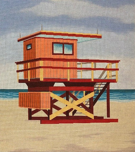 ASIT 361 Red Lifeguard Stand