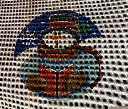 Rebecca Wood Snowman Caroling 36-A