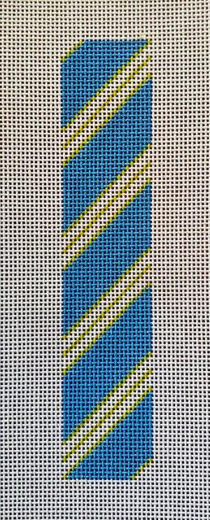 AF65 Anne Fisher Key Fob -Blue/Green Rep