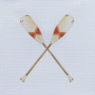 Sara Fritz SF-22 Oars Red