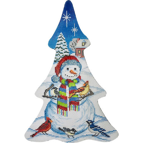 AP 4157  Snowman Christmas Tree