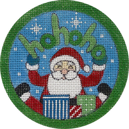 Ho Ho Ho Santa & Gifts Alice Peterson X418