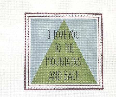 Hello Tess PP18 I love you to the Mountains 18 mesh