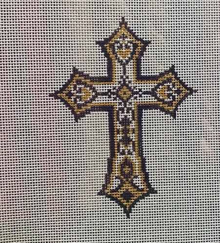 Heidi 377 Purple Cross