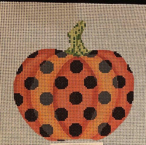 Haunted Polka Dot Pumpkin