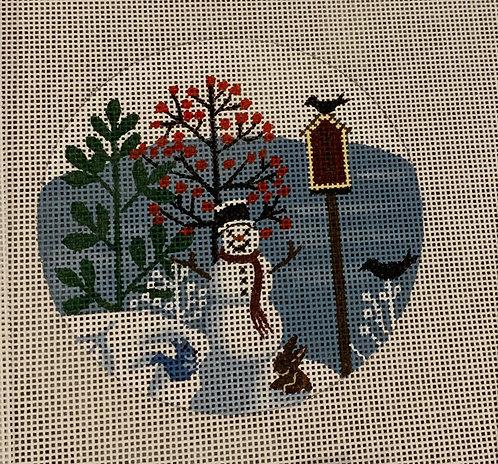 Mary Charles MCFR07 Snowman & Animals