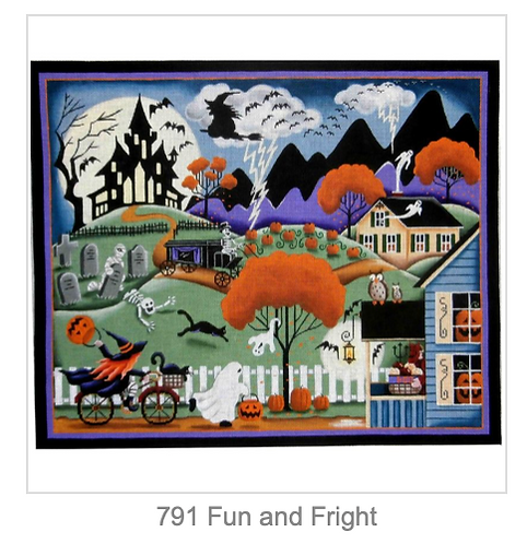 Rebecca Wood 791 Fun and Fright