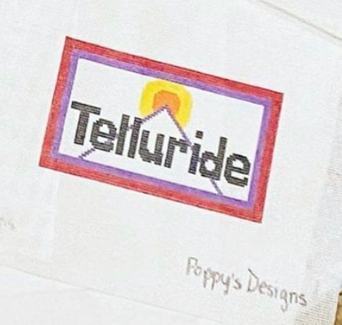 Poppys Needlepoint Vintage Telluride Patch