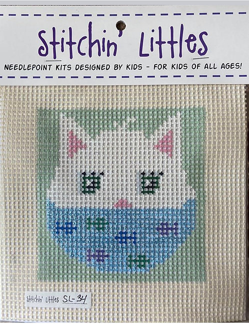 Stitchin' Littles SL-34 Cat with Mask