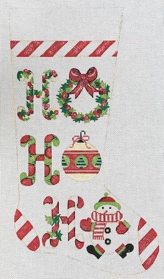 Alice Peterson 2418 Ho Ho Ho Stocking