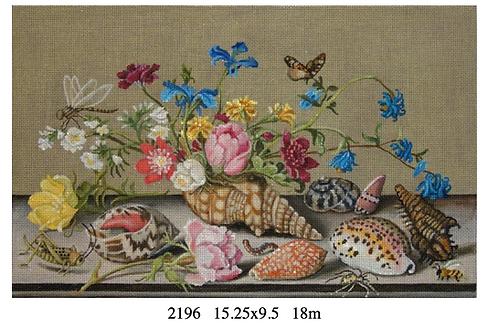 Melissa Shirley 2196 Floral Shells