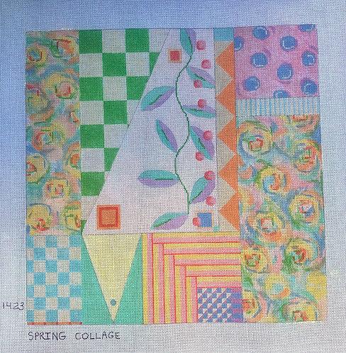 PM 1423 Spring Collage 14x14 18 mesh