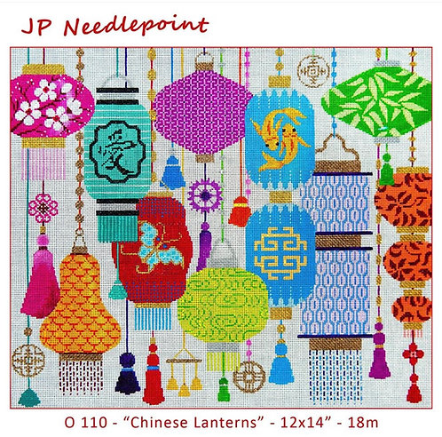 JP Needlepoint Chinese Lanterns