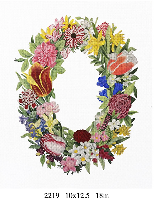 Melissa Shirley 2219 Flower Wreath