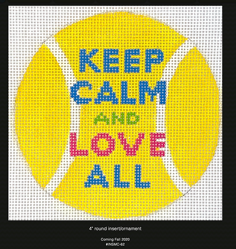 Kate Dickerson Keep Calm and Love All Tennis