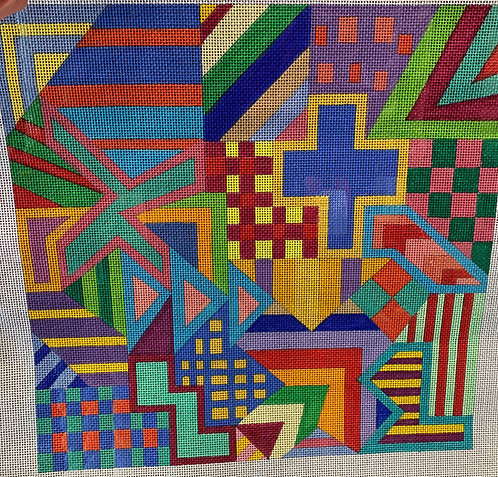 Maggie M-909 Joseph #4 13 mesh geometric