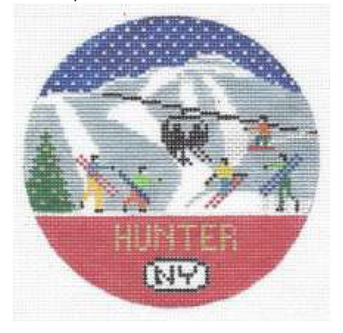 Doolittle Ski Rounds 18 mesh Hunter