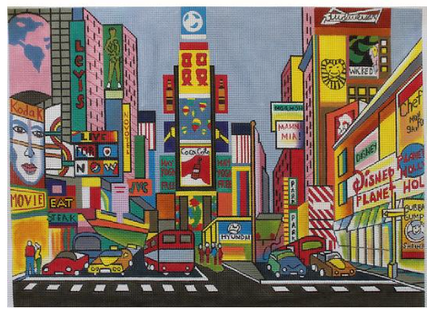 Marcia Steinbock Times Square MS160