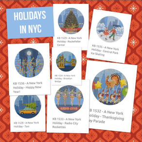 We are in love with this new Holidays in NYC collection of ornaments!!!