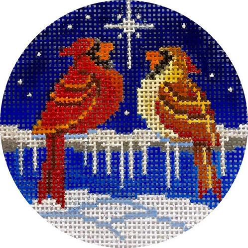 Cardinals & North Star  Alice Peterson X426