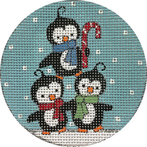 Penguis in Snow Alice Peterson X405