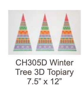 Eye Candy CH305D Winter Tree Topiary