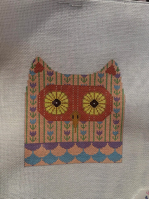 JP Needlepoint Two Sided Owl