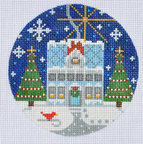 Danji CH-74 House with Christmas Tree