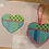 Thumbnail: AT HE810 Lime Turquoise  Heart