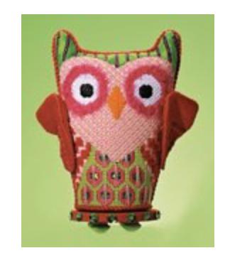 Eye Candy N110B Holiday Owl