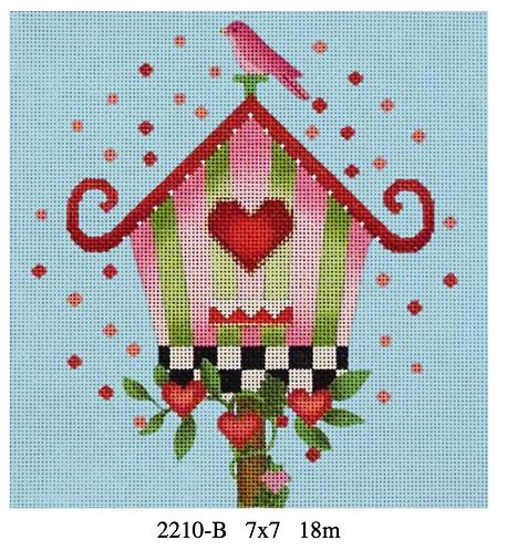 Melissa Shirley Birdhouse Pink 2210 B