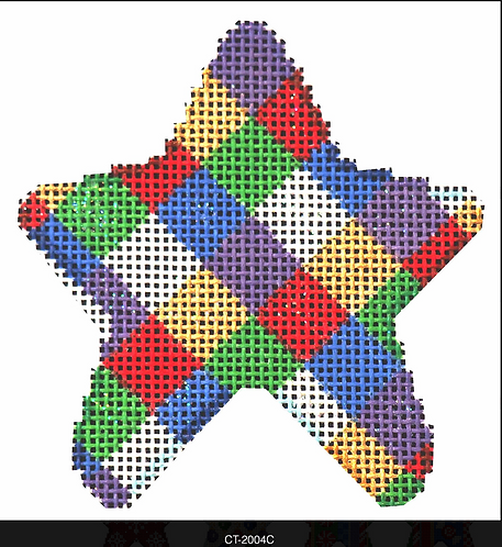 AT CT-2004C Christmas Harlequin Mini Star