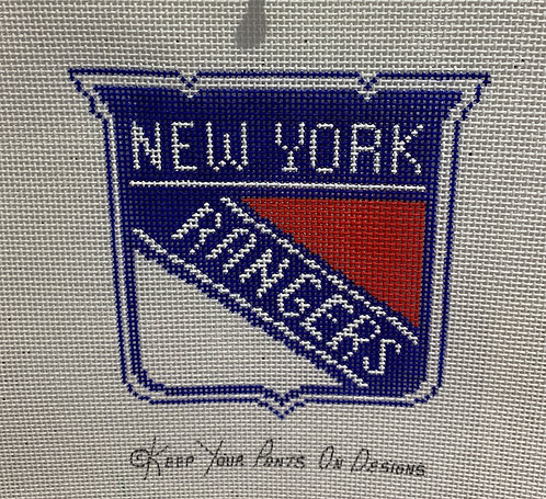 Keep Your Pants On NY Rangers Seal