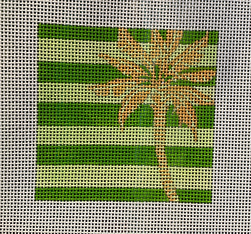 "Paul Brent Palm Tree 4"" Square"