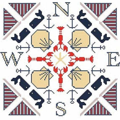 Halcyon House New England Compass