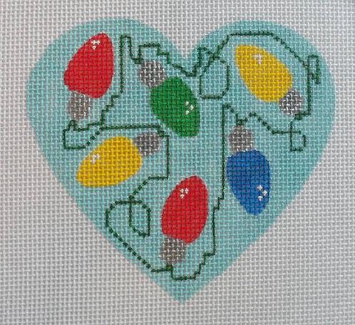 Altstitchery Lightbulb Heart
