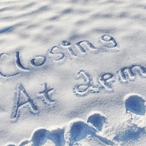 We closed at 2pm today