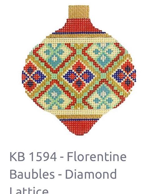KB 1594 Florentine Bauble