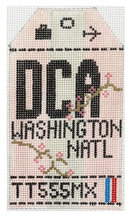HedgeHog DCA Washington National Travel Tag