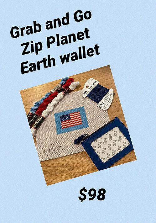 Grab and Go Blue Zip Case Bundle