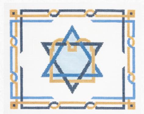 PF332 Star with Torah Tallis