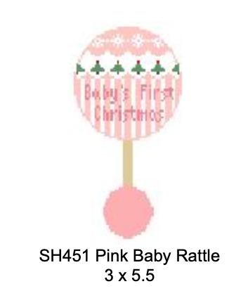 Kathy Schenkel Baby's 1st Christmas Rattle SH451