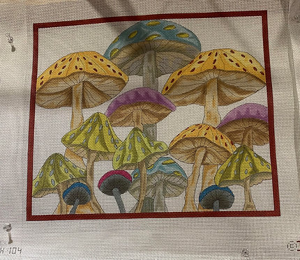Renaissance Designs NH-104 Wild Mushrooms