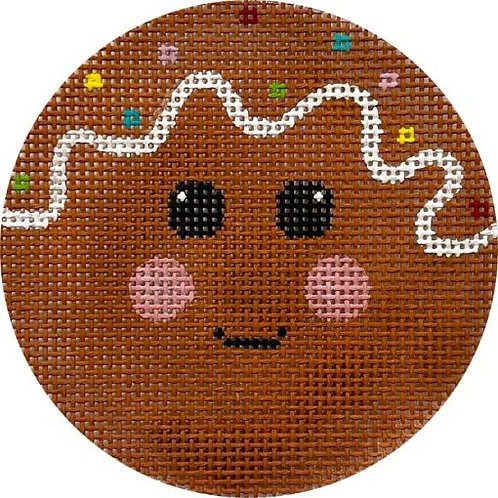 Gingerbread Face Alice Peterson X423