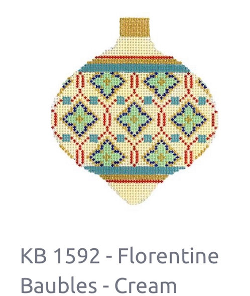 KB 1592 Florentine Bauble