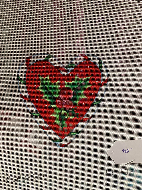 Pepperberry Holly Heart CCH03