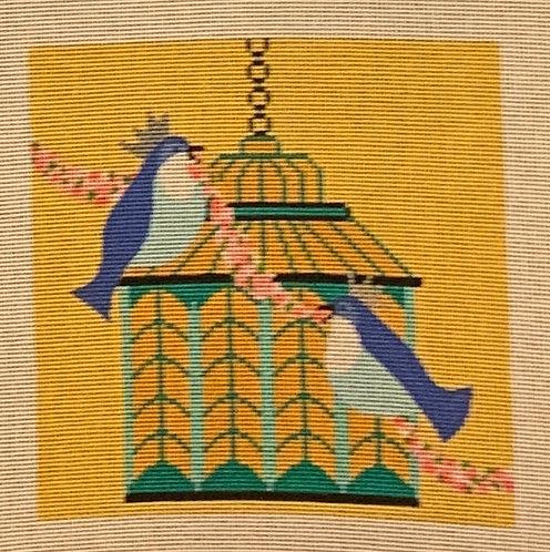 Amanda Lawford the Royal Couple Birdcage AL-039