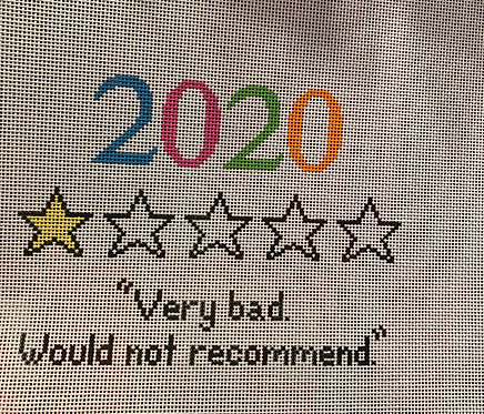 OG Needlepoint 2020 Very Bad Would Not recommend