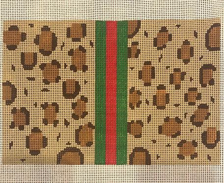 Silver Stitch Leopard print
